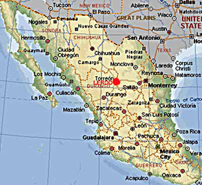 Where is torreon mexico